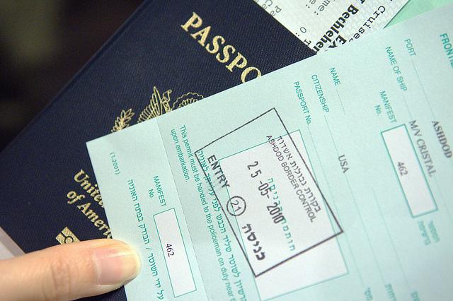 Getting a Passport, Visa